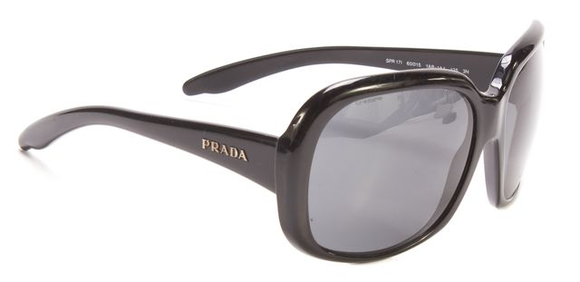 PRADA Black Rectangular Sunglasses