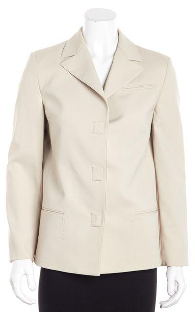PRADA Beige Basic Jacket