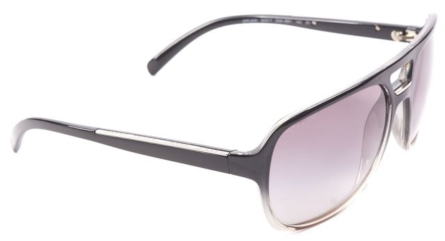 PRADA Black ZXA-3M1 Aviator Sunglasses