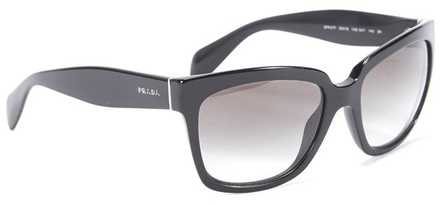 PRADA Black SPR07P Square Sunglasses