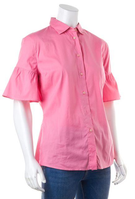 PRADA SPORT Casual Pink Button Down Shirt