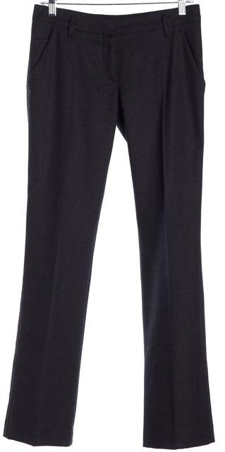 PRADA SPORT Gray Wool Slim Trouser Pants
