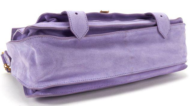 PROENZA SCHOULER Purple Suede PS1 Medium Crossbody Bag
