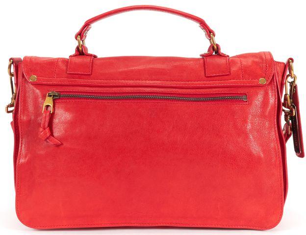 PROENZA SCHOULER Red Leather PS1 Satchel Bag