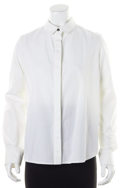 Long Sleeve Button Down - White Proenza Schouler Lowest Price Fast Shipping Buy Cheap Fashionable RSy8x