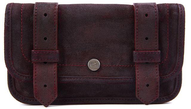 PROENZA SCHOULER Raspberry Buckle Strap Leather Wallet