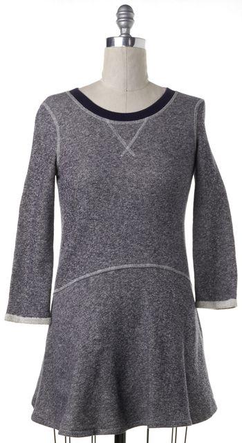 RACHEL ZOE Heather Blue Sweatshirt Dress