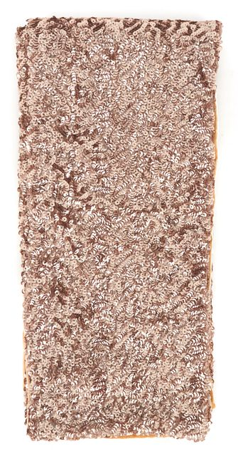 RACHEL ZOE Antique Gold Sequined Velvet Scarf