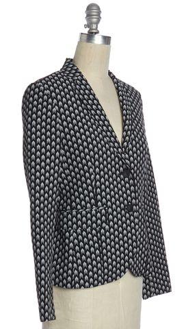 RAG & BONE Black White Geometric Blazer