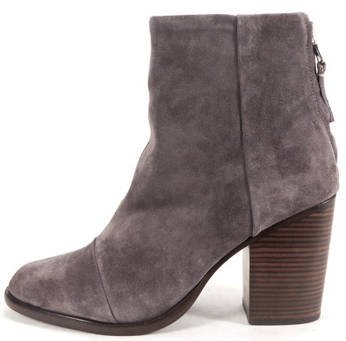 RAG & BONE Gray Suede Ashby Ankle Boots