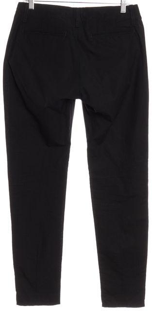 RAG & BONE Black Leather Cotton Casual Pants