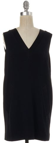 RAG & BONE Black V-Neck Sleeveless Shift Dress
