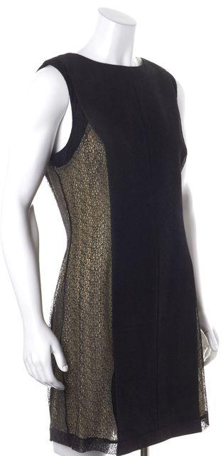 RAG & BONE Black Nude Lace Sheath Dress