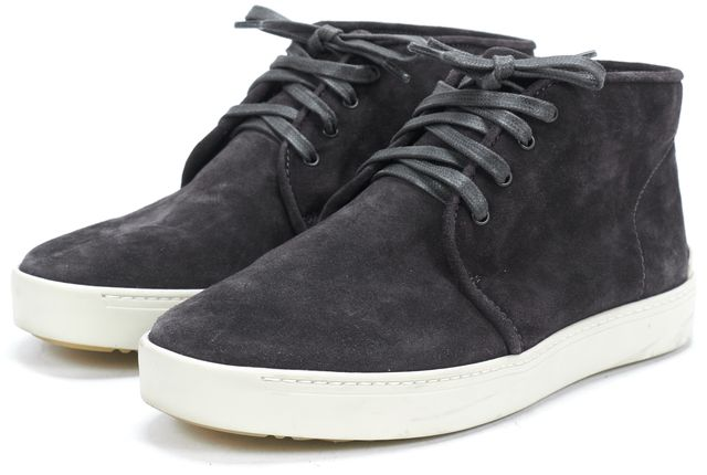 RAG & BONE Gray Suede Lace Up Ankle Boot High Top Sneakers