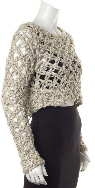 RAG & BONE White Scoop Neck Sweater