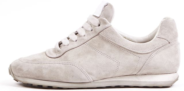 RAG & BONE Gray Suede Lace Up Sneakers