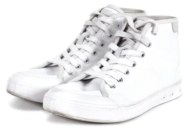 RAG & BONE White Canvas Sneakers