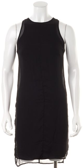 RAG & BONE Black Solid Sleeveless Bailey Sheath Dress