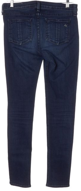 RAG & BONE Coronado Blue Stretch Cotton Skinny Jeans