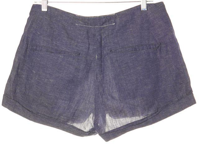 RAG & BONE Dark Wash Cuffed Denim Shorts