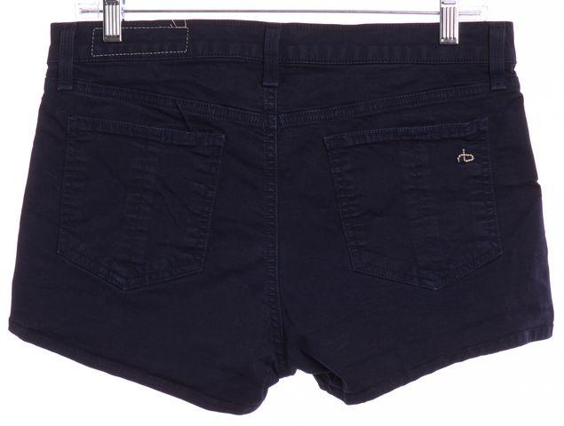 RAG & BONE/JEAN Indigo Blue Orange Denim Shorts