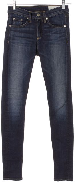 RAG & BONE/JEAN #W1513K520 Blue Skinny Jeans