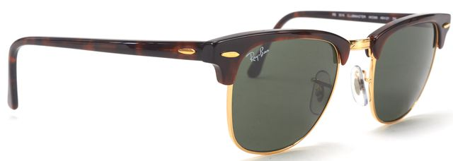 RAY-BAN RAY BAN Gold Wire Clubmasters Sunglasses w/ Case