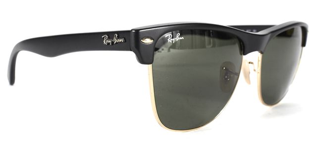 RAY-BAN RAY BAN Black Green Matte Acetate Frame RB4175 Sunglasses