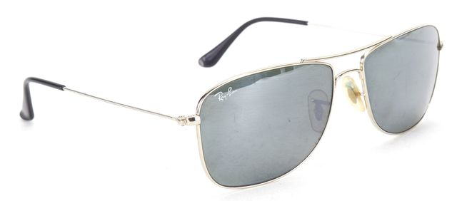 RAY BAN Silver Wire Frame Aviator Sunglasses