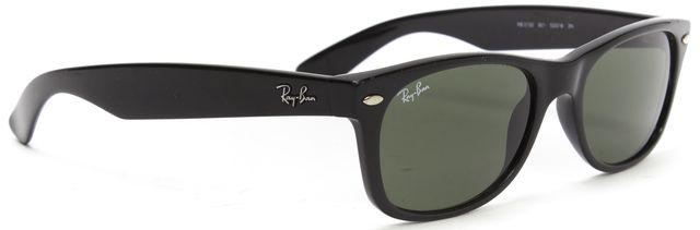 RAY-BAN Black Acetate Square Frame Sunglasses
