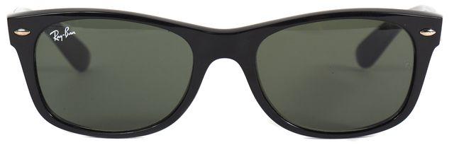 RAY-BAN Black Wayfarer Square Sunglasses w/ Case