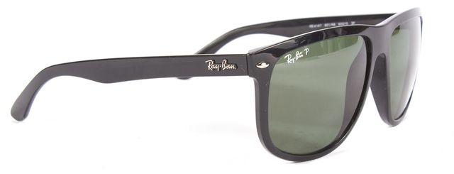 RAY-BAN Black Polarized Square Sunglasses