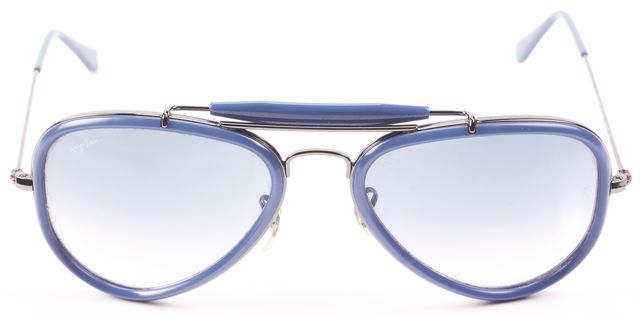 RAY-BAN Blue Aviator Sunglasses