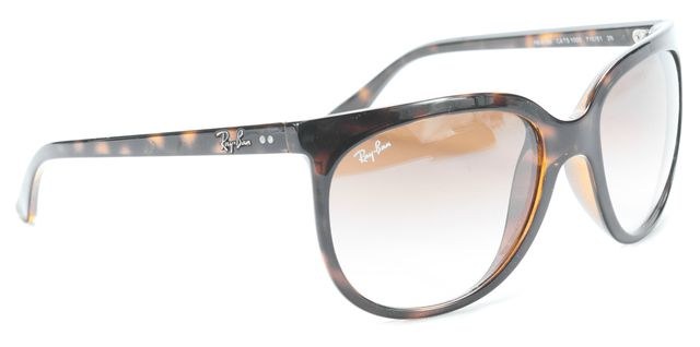RAY-BAN Brown Gradient Round Sunglasses