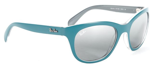 RAY-BAN Sea Blue Round Sunglasses