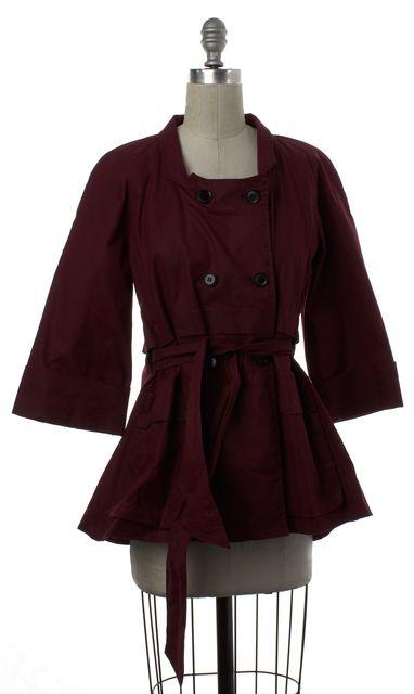 RACHEL COMEY Red Coated Jacket