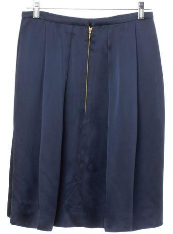 ROCHAS Blue Pleated Skirt