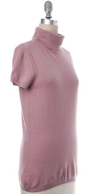 ROBERTO CAVALLI Pink Cashmere Turtleneck Sweater