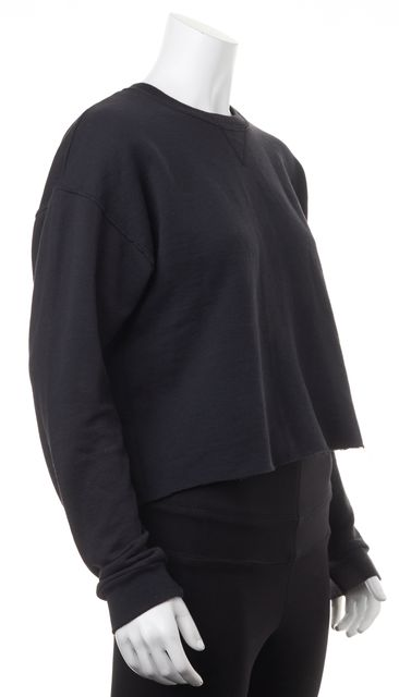 REFORMATION Black SweatShirt Sweater