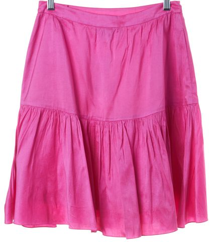 RALPH LAUREN BLACK LABEL Pink Pleated Skirt Size 2