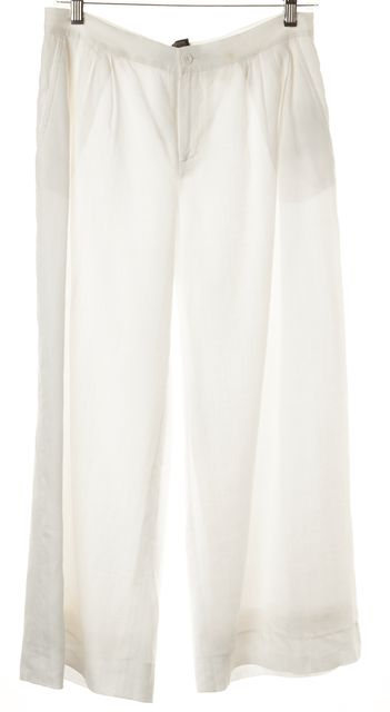 RALPH LAUREN BLACK LABEL White Casual Pants