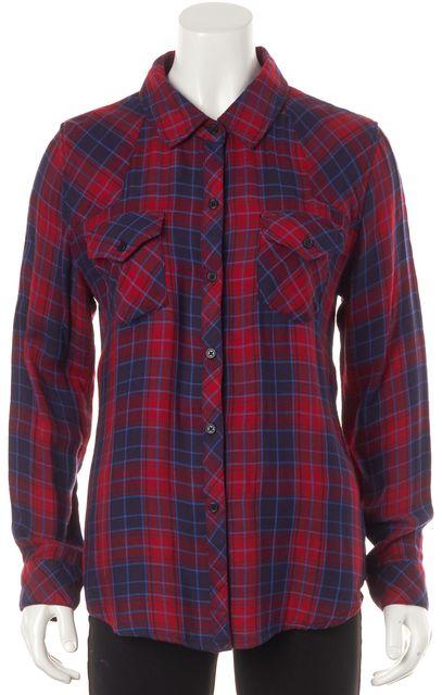 RAILS Red Blue Plaid Button Down Shirt