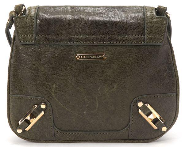 REBECCA MINKOFF Green Leather Small Crossbody Bag