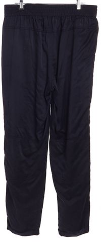 REBECCA TAYLOR Navy Blue Silk Casual Pants