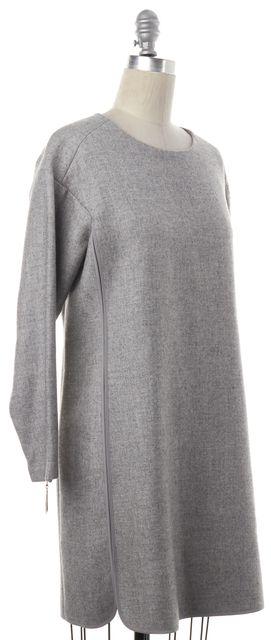 REBECCA TAYLOR Gray Wool Shift Dress