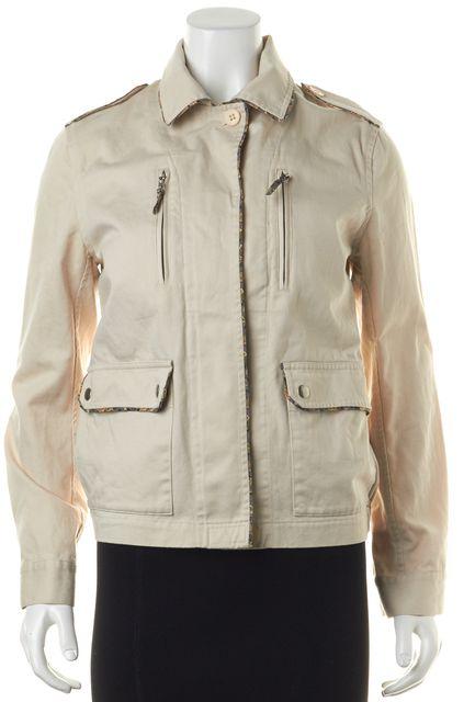 REBECCA TAYLOR Beige Basic Jacket