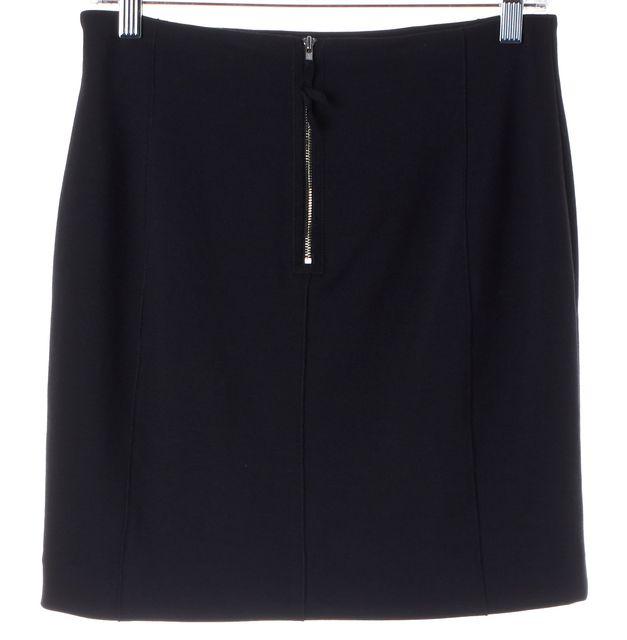 REBECCA TAYLOR Black Above Knee Pencil Skirt