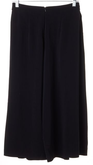 REBECCA TAYLOR Black Wide Leg High Waisted Pants