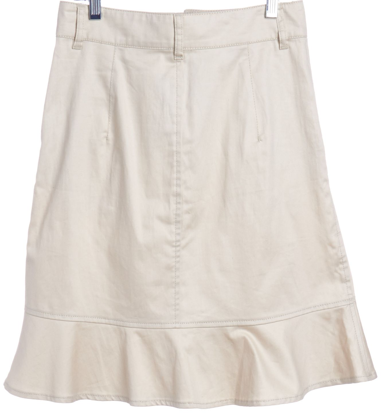 RED Valentino Ivory A-Line Skirt | Material World
