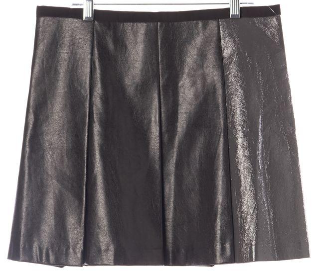 SACAI LUCK Black Above Knee Pleated Skirt